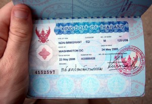 Visa on Arrival in Thailand
